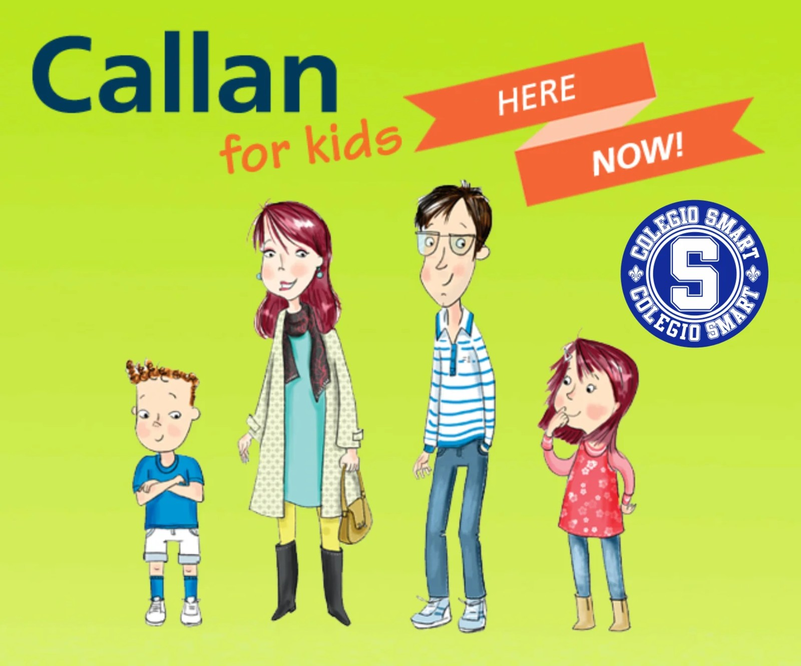Callan for Kids Now at Colegio Smart
